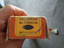 NOS F DICK SHARPENING STEEL OVAL