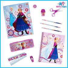 Disney Frozen Stationery Supply Kit feat Anna & Elsa pencil case pencils eraser