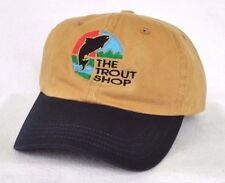 *THE TROUT SHOP MISSOURI RIVER MONTANA* Fly Fishing Ball cap hat *IMPERIAL*