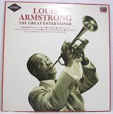 "LOUIS ARMSTRONG : THE GREAT ENTERTAINER Album Vinyl LP 12"" 33rpm Excellent"