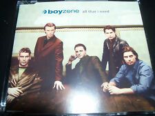 Boyzone / Ronan Keating All That I Need Australian CD Single – Like New