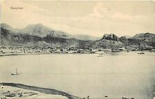 c1905 Lithograph Postcard; View of Guaymas Sonora Mexico from the Sea of Cortez