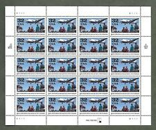 {BJ Stamps}  32 Berlin Airlift, WWII.  MNH 32 cent sheet of 20.  Issued In 1998.
