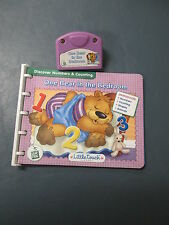 Leapfrog Little Touch Book & Cartridge One Bear In The Bedroom Numbers 1+ E.U.C.