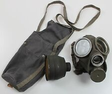 (4) WW2 era SWEDEN SWEDISH ARMY m36 GAS MASK + 1942 DATED FILTER AND BAG