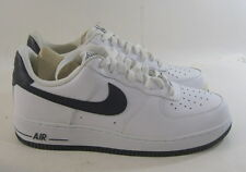 Nike Air Force 1 Low Men's Basketball Shoes White/Obsidian   488298-105 Size   9