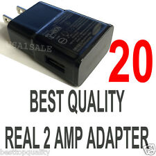 LOT 20 x 2A AC Wall Power Charger Adapter for Samsung Galaxy S5 S4 S3 S2 Note II
