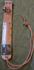 WWII US M6 FIGHTING KNIFE LEATHER CARRY SCABBARD