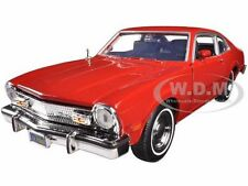 1974 FORD MAVERICK RED 1/24 DIECAST MODEL CAR BY MOTORMAX 73326