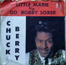 CHUCK BERRY - LITTLE MARIE b/w GO, BOBBY SOXER - CHESS 45 + PICTURE SLEEVE