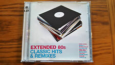 "EXTENDED 80S 80'S CLASSIC HITS & REMIXES 12"" 12 INCH DOUBLE CD *NEW JEWEL CASE*"