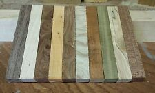 10 x WOODTURNING WOODWORKING MIXED PEN BLANKS ! FREE POSTAGE!!