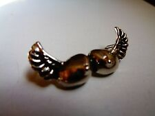 Winged Tits Badge Vintage Motorcycle Pin American Biker Flying Breasts Club