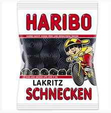 Made in Germany-Haribo Licorice WHEELS gummy bears-200g