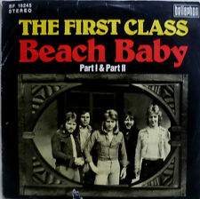 "7"" 1974 HAPPY SOUND VG+ ! THE FIRST CLASS : Beach Baby"