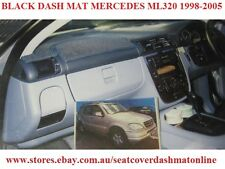 DASH MAT, DASHMAT, DASHBOARD COVER FIT MERCEDES ML320,ML270, ML500 98-05, BLACK