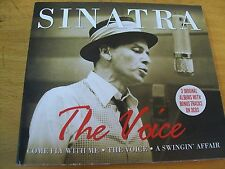 FRANK SINATRA THE VOICE BOX TRIPLO CD MINT---  DIGIPACK