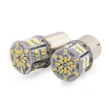 2 Lampada Lampadina 1156/BA15S 3W 6500K DC12-24V SMD3014 54 LED Bianco Nuovo
