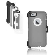 Original Grey/White OtterBox Defender Serial Case For iPhone 6 Plus/6S Plus 5.5""