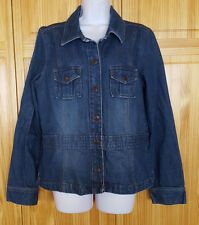 Old Navy Jean Jacket Blue Denim Womens Size XL