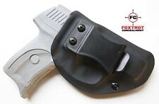 Ruger LC9 / LC9s / LC380 IWB Concealed Carry Kydex Holster RH BK Metal Clip