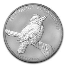 2010 Australia 1 oz Silver Kookaburra (from mint roll)