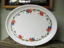 VILLEROY AND BOCH AMAPOLA LARGE OVAL MELAMINE TRAY