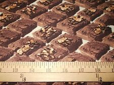 """1 yard of Windham """"In the Mix"""" Brownies Fabric"""