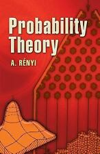 Probability Theory by A. Renyi (2007, Paperback)