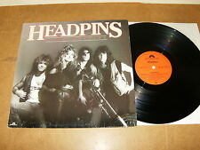 HEADPINS : LINE OF FIRE - GERMANY LP - POLYDOR 821 150 - 1983