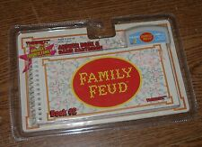 Family Feud Answer Book & Game Cartridge #2 Tiger Electronics 1997 New Sealed