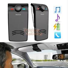 Wireless Bluetooth Multipoint Handsfree Car Kit Speakerphone Speaker Clip Mic #P