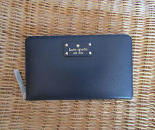 NEW kate spade Travel Wallet Wellesley Navy