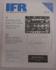 IFR Pilot Magazine Dealing With Loss Of Comm August 1990 FAL 061815R