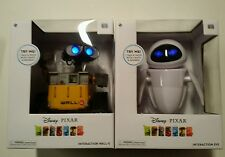 Disney Pixar THINKWAY TOYS WALL-E AND EVE INTERACTIVE TOYS TALKS LIGHTS UP MOVES