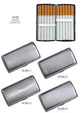 Portasigarette in metallo lavorato  saponetta 12 sigarette mod. AA436