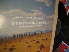 Wheat Ridge High School Band--Private Press