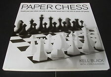 Paper Chess : Create Your Own Chess Set with a Detachable Board and 2 Full Sets
