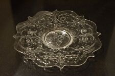 Clear Rock Crystal dinner plate  made by McKee Co. Depression glass