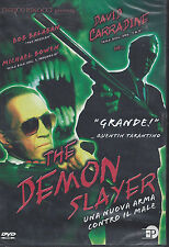 Dvd **THE DEMON SLAYER** con David Carradine nuovo 2000