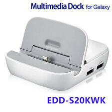 Genuine EDD-S20KWK Smart Dock Multimedia For Samsung Galaxy S3 S4 Note 2 White