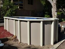 ABOVE GROUND LAP POOL PACKAGE 6.0m x 2.4m  SALTWATER AUST MADE FREE IN POOL STEP