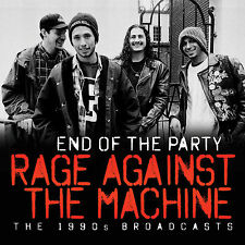 RAGE AGAINST THE MACHINE New Sealed 2017 UNRELEASED 1990s LIVE CONCERTS CD