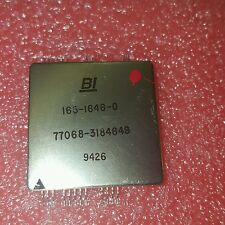 Vintage  BI 165-1646-0  77068-3184649  GOLD PLATED RARE CPU / IC / TRANSISTOR