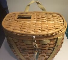 Fishing Creel Basket  Vintage. Good Condition. GREAT HOME DECOR