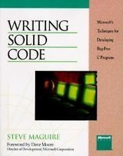 Writing Solid Code: Microsoft's Techniques for Developing Bug-Free C P-ExLibrary