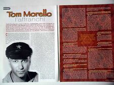 COUPURE DE PRESSE-CLIPPING : TOM MORELLO [4pages] 12/2002 AUDIOSLAVE