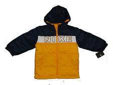 NEW NIKE BOMBER JACKET YELLOW BLUE 6  YEARS Puffa Jacket AUTHENTIC