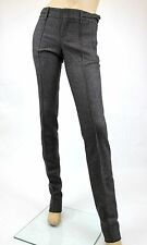 NEW Authentic Gucci Wool Dress Pants w/Buckle Belt Strap, 40, 186422