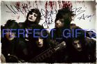 BLACK VEIL BRIDES BVB ANDY SIXX JINXX SIGNED 10X8 PP REPRO PHOTO